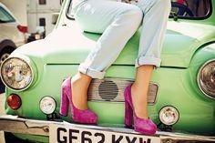 Womens Heels - High Heels for Women - Designer Wedges Womens High Heels, Designing Women, Shoes Heels, Wedges, Pairs, Crowd, Summer, Spring, People