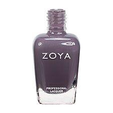 Zoya Nail Polish ZP565  Petra  Mauve Gray Purple Nail Polish Cream Nail Polish - like a darker Carey, which I have :)