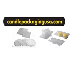 25 25 Coo Candles 6 Cavity Clamshell Molds for Wickless Wax Melt Candles