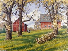 Autumn's End | John Sloane Art