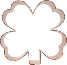 Clover Shamrock Copper Cookie Cutter