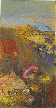 (Musée Maurice Denis) - Fleurs étranges d'ODILON REDON                                                                                                                                                                                 More