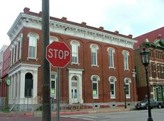 The Strand Historic District, Galveston, Texas, July 2010