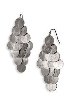 Tasha Metal Chandelier Earrings $18