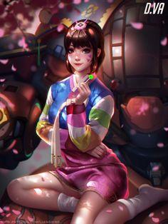 D.va by Liang-Xing.deviantart.com on @DeviantArt - More at https://pinterest.com/supergirlsart #dva #overwatch #fanart
