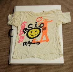 Original acid house t-shirt, c. 1988