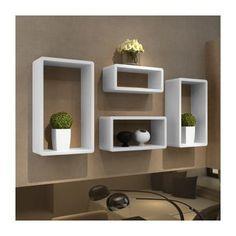 www.cdiscount.com maison rangement etageres-design-murale-4-cubes-blanc f-zoom-AUC2009960804725-0.html
