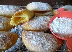 Twarogowe ciasteczka z brzoskwinią