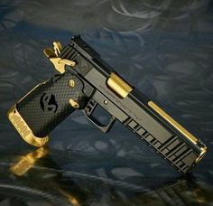 Pistol guns, weapons, self defense, protection. Weapons Guns, Guns And Ammo, Airsoft, Colt M1911, Revolvers, Winchester, Armas Ninja, By Any Means Necessary, Custom Guns