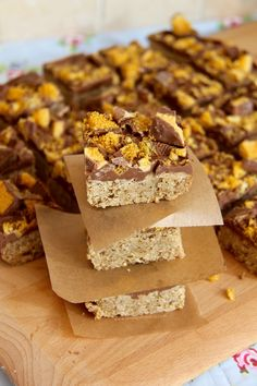 Honeycomb Flapjacks! - Jane's Patisserie