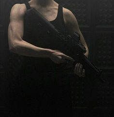 Adian played with the safety button on his gun. He hated night shifts. His partner for tonight strode over to the couch and layed down, gun propped behind his head like a pillow. Badass Aesthetic, Daddy Aesthetic, Character Aesthetic, Night Aesthetic, Wattpad, Mafia, Last Action Hero, Tyler Durden, Fallout New Vegas