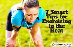 Essential Hot Weather Running Tips via @SparkPeople