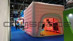 6m Cube at #SGI #Exhibtion #Dubai engage@dryspace.ae http://www.dryspace.ae