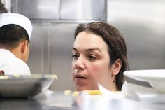 Ellerman House's Head Chef, Veronica de Canha-Hibbert in the kitchen