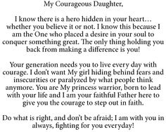 My Heavenly Father This honestly brought tears to my eyes. Bible Verses Quotes, Bible Scriptures, Faith Quotes, Gods Princess, Daughter Of God, Daughters, Quotes About God, Spiritual Inspiration, Christian Quotes