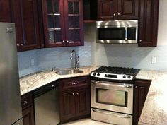 """KCK kitchen cabinets, a testimonial submitted by SHAI BENHAMOU: """" I get so many compliments on my Pacifica cabinets. I'm really thrilled with the overall quality and I referred my contractor to your website. Thank you for taking the time to help put this kitchen design together."""""""