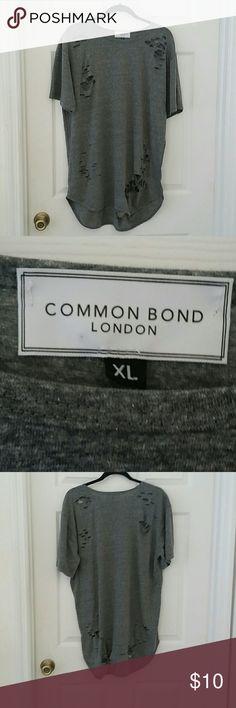 MEN'S SHIRT MEN'S SHIRT (distressed look ) COMMON BOND LONDON  Shirts