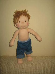 Waldorf doll waldorf inspired doll steiner doll organic by bemka