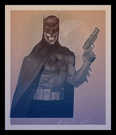 Batman by Ariel Olivetti *