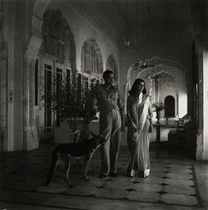 NPG x132089; Sawai Man Singh II, Maharaja of Jaipur; Maharani Gayatri Devi, Rajmata of Jaipur by Cecil Beaton