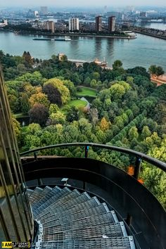 Stairs Of Euromast, Rotterdam, The Netherlands