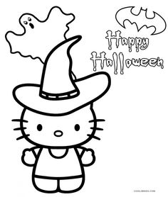 Creative Image of Coloring Pages Hello Kitty Coloring Pages Hello Kitty Free Printable Hello Kitty Coloring Pages For Pages Halloween Coloring Pages Printable, Halloween Coloring Sheets, Printable Coloring, Coloring Pages To Print, Coloring Pages For Kids, Coloring Books, Hello Kitty Halloween, Hello Kitty Christmas, Hello Kitty Colouring Pages