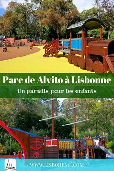 Parc de Alvito à Lisbonne - Un paradis pour les enfants au cœur du parc de Monsanto