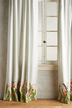 Tulip & Eucalyptus Curtain