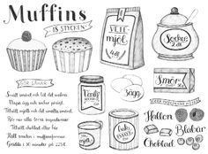 Illustrated Muffins Recipe by Tovelisa
