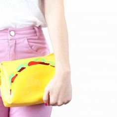 It's Taco Tuesday and we're going to taco 'bout showing you how to make this taco purse!