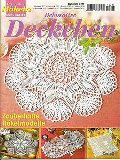 Dekoratives Hakeln Sonderheft - DE 235 Deckchen - Kristina Dalinkevičienė - Picasa Web Album and a lot of magazines