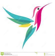 Colibri stylisé