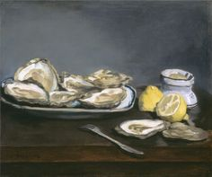 Edouard Manet - Oysters [1862]