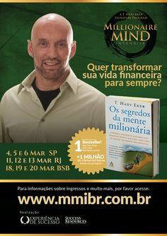 Panfleto promocional para evento internacional Campanhas SP/RJ/DF