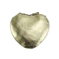 Heart shaped leather bag❤, unique design in cross-body. Add gold touch to party dress or casual outfit for elegant look.Please check on necessities. Leather Clutch, Leather Purses, Purse Wallet, Coin Purse, Bago, Italian Leather, Casual Chic, Cross Body, Apple Uk