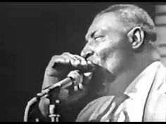 Howlin Wolf- Rolling Stones- on TV. The Stones said they'd ONLY appear IF Howlin' Wolf were booked, too.  The Wolf Man puts on a show!