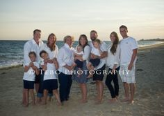 The Hyland family having fun celebrating Mom's 65th birthday and their summer 2013 vacation at Misquamicut Beach!!!