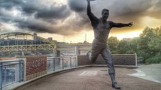 Maz, as seen at PNC Park.