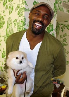 And I would be remiss if I didnt alert you to this picture of Idris Elba and this adorable puppy.