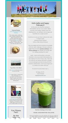 Join the Healthy Lifestyle Weekly Newsletters! Happy February, Hello Ladies, Yoga Videos, Fitness Nutrition, Good Mood, Fun Workouts, Health Tips, Healthy Lifestyle, Recipes