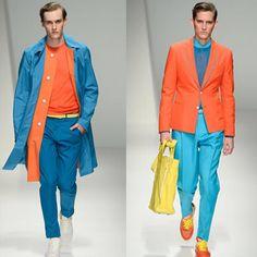 colores neon en ropa hombre - Buscar con Google