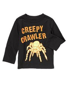 Crazy 8 - Creepy Crawler Spider Tee 3t