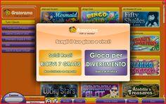 Gratorama gratta e vinci 7 euro gratis. NetoPlay è fiera di presentarvi un nuovissimo portale di giochi istantanei online: Gratorama è un sito ricco divertimento, che offre una straordinaria gamma di gratta e vinci, slot e giochi con vincita istantanea in un formato attraente, facile da giocare e facile da usare e con una grafica eccellente, entra ora su Gratorama! Visita: http://www.bonusfree.net/Gratorama.html