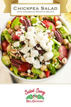 Update your chopped salad with jalapeno, avocado, and Ricotta Salata.