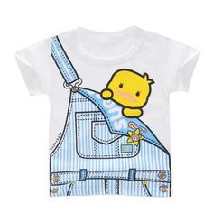 This Kids tee is perfect for every kid who wants a comfortable shirt to play, relax, or romp around in. Durable, high-quality shirt that will survive many adventures. Kids Outfits Girls, Baby Boy Outfits, Cute White Tops, Kids Shorts, Cartoon Kids, Kind Mode, Shirts For Girls, Printed Shirts, Printed Cotton