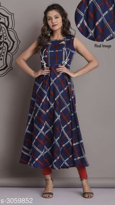 Kurtis & Kurtas Women's Printed Rayon Long Anarkali Kurti Fabric: Rayon Size:M- 38 in L - 40 in XL- 42 in  XXL-44 in Length: Up To 46 in  Type: Stitched Description: It Has 1 Piece Of Women's Kurti Work: Printed Country of Origin: India Sizes Available: S, M, L, XL, XXL   Catalog Rating: ★4.2 (18474)  Catalog Name: Women Printed Rayon Kurtis CatalogID_418701 C74-SC1001 Code: 125-3059852-