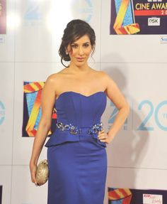 Sophie Chaudhary at Zee Cine Awards 2013.