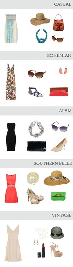 Kentucky Derby Fashion for every style personality.... Southern belle for sure