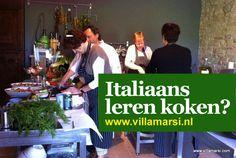 September en Oktober aanbieding !  Boek een week vakantie bij Villa marsi met een gratis kookworkshop.
