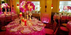 Hotel Plaza Athenee @ New York NY | Max Capacity: 80 | Click to get price quote! | Pink Candlelit Weddings | Reception Venues | Wedding Ideas #weddingspot #weddingplanning